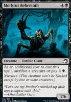 Innistrad: Midnight Hunt Foil: Morkrut Behemoth