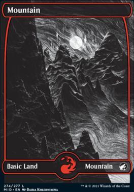 Innistrad: Midnight Hunt: Mountain (274)