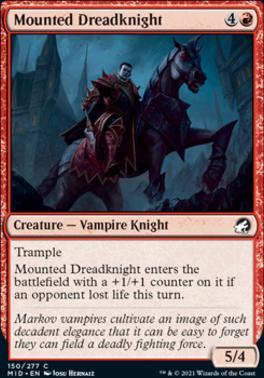 Innistrad: Midnight Hunt: Mounted Dreadknight