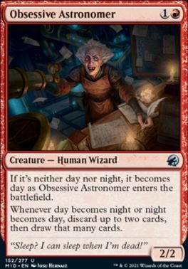 Innistrad: Midnight Hunt: Obsessive Astronomer