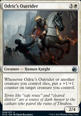 Innistrad: Midnight Hunt Foil: Odric's Outrider