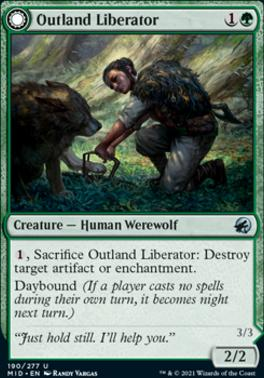 Innistrad: Midnight Hunt: Outland Liberator