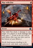 Innistrad: Midnight Hunt: Play with Fire
