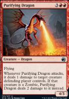 Innistrad: Midnight Hunt Foil: Purifying Dragon