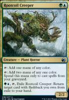 Innistrad: Midnight Hunt Foil: Rootcoil Creeper
