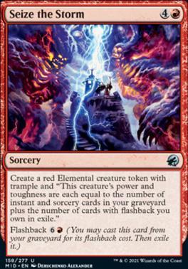 Innistrad: Midnight Hunt Foil: Seize the Storm