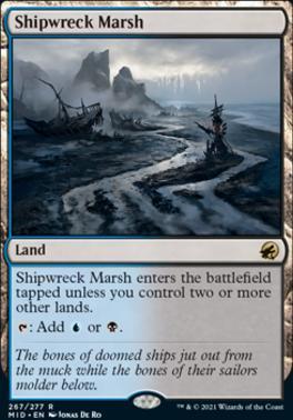 Innistrad: Midnight Hunt Foil: Shipwreck Marsh