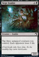 Innistrad: Midnight Hunt Foil: Siege Zombie