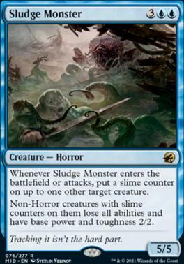 Innistrad: Midnight Hunt: Sludge Monster
