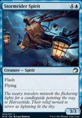 Innistrad: Midnight Hunt Foil: Stormrider Spirit