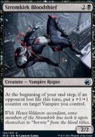 Innistrad: Midnight Hunt Foil: Stromkirk Bloodthief