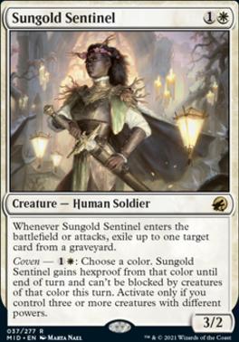 Innistrad: Midnight Hunt: Sungold Sentinel