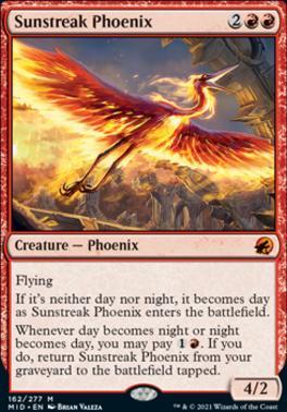 Innistrad: Midnight Hunt: Sunstreak Phoenix
