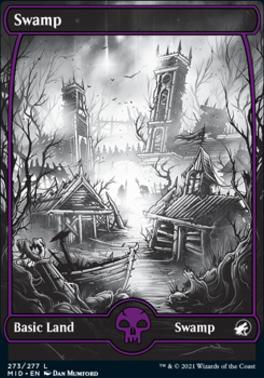 Innistrad: Midnight Hunt: Swamp (273)