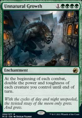 Innistrad: Midnight Hunt: Unnatural Growth
