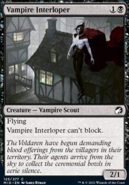 Innistrad: Midnight Hunt: Vampire Interloper
