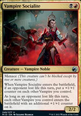 Innistrad: Midnight Hunt: Vampire Socialite