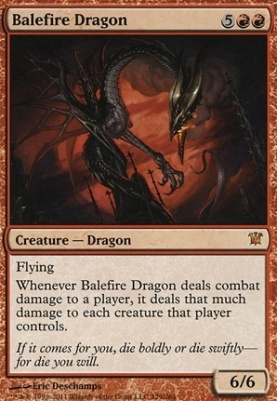 Innistrad: Balefire Dragon
