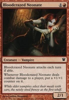 Innistrad Foil: Bloodcrazed Neonate