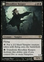 Innistrad Foil: Bloodline Keeper