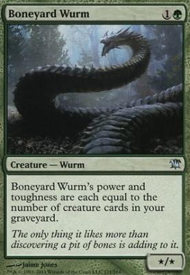 Innistrad Foil: Boneyard Wurm