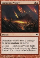 Innistrad Foil: Brimstone Volley