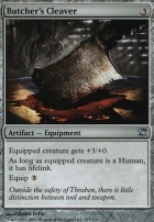 Innistrad Foil: Butcher's Cleaver