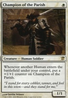Innistrad Foil: Champion of the Parish