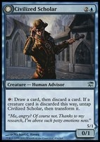 Innistrad Foil: Civilized Scholar