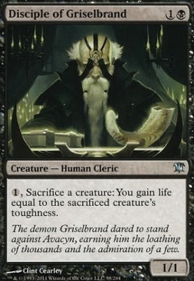 Innistrad: Disciple of Griselbrand