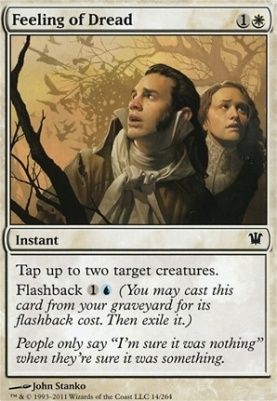 Innistrad Foil: Feeling of Dread