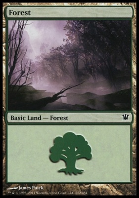 Innistrad: Forest (262 A)