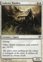 Innistrad Foil: Gallows Warden