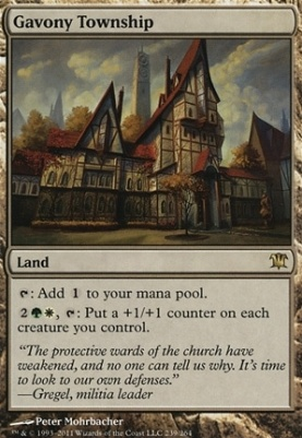 Innistrad Foil: Gavony Township