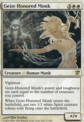 Innistrad: Geist-Honored Monk
