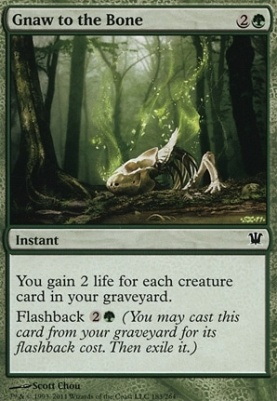 Innistrad Foil: Gnaw to the Bone