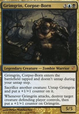 Innistrad Foil: Grimgrin, Corpse-Born