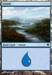 Innistrad Foil: Island (255 C)