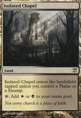 Innistrad Foil: Isolated Chapel