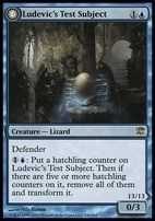 Innistrad Foil: Ludevic's Test Subject