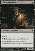 Innistrad Foil: Manor Skeleton