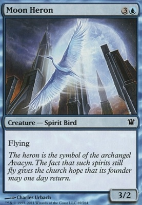Innistrad Foil: Moon Heron