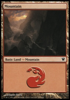Innistrad: Mountain (259 A)