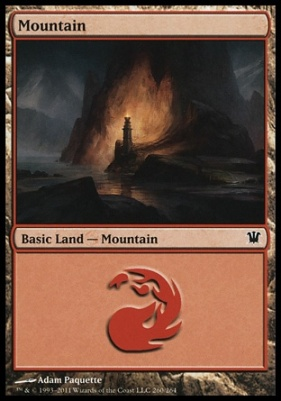 Innistrad: Mountain (260 B)