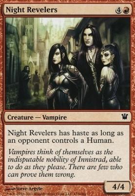 Innistrad: Night Revelers