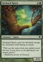 Innistrad Foil: Orchard Spirit