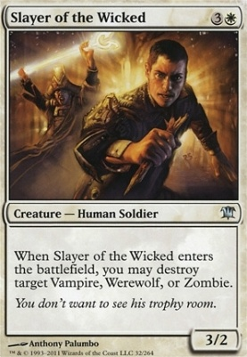Innistrad: Slayer of the Wicked