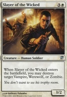 Innistrad Foil: Slayer of the Wicked
