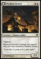 Innistrad: Thraben Sentry
