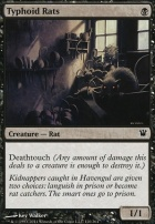 Innistrad Foil: Typhoid Rats